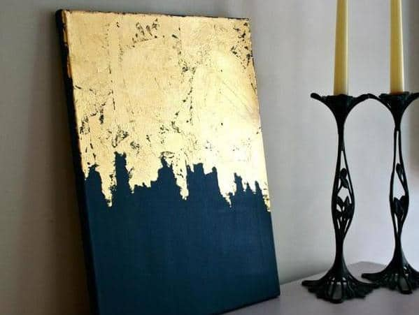 Gold Leaf Artwork