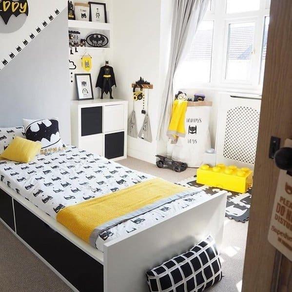 Cool Batman Kids Bedroom Idea