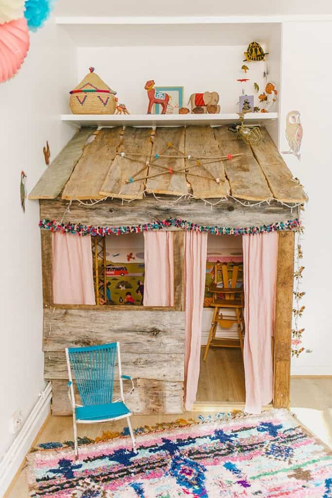 Rustic Cabin Shop Front Playhouse