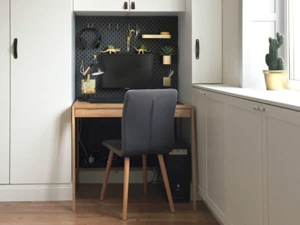 Home Office Desk Tidy Ikea Hack