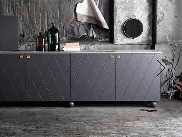 Luxurious Panelled Sideboard