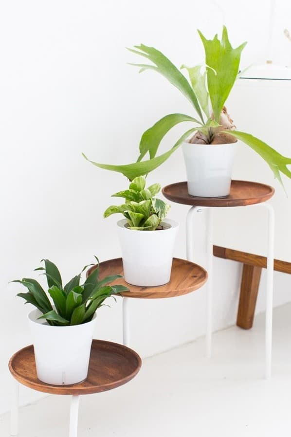 Stylish Plant Stands Ikea Hack