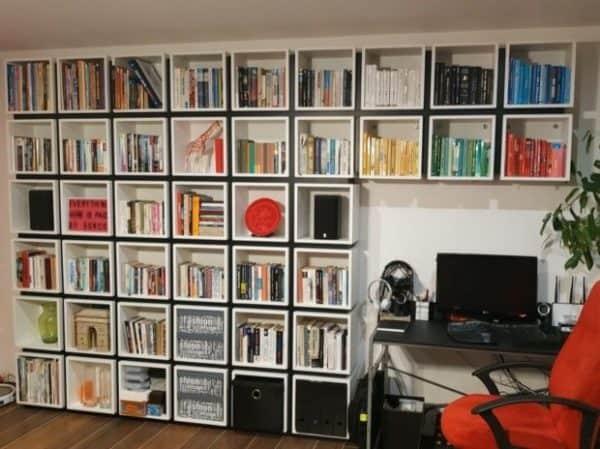 Unique Box Bookcase Ikea Hack