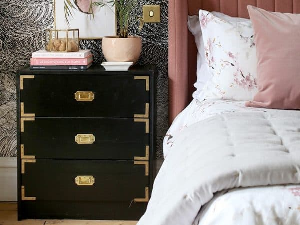 Ornate Bedside Table Ikea Hack