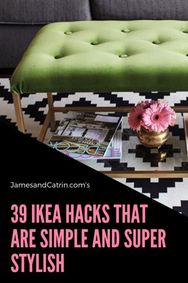 39 Ikea Hacks that are Simple and Super Stylish