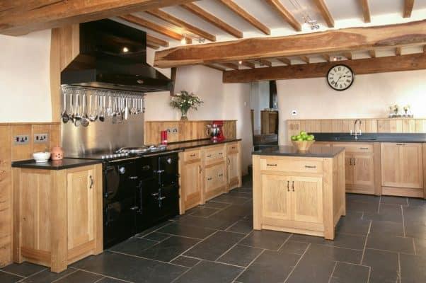 Modern Farmhouse Kitchen Bespoke Cabinets