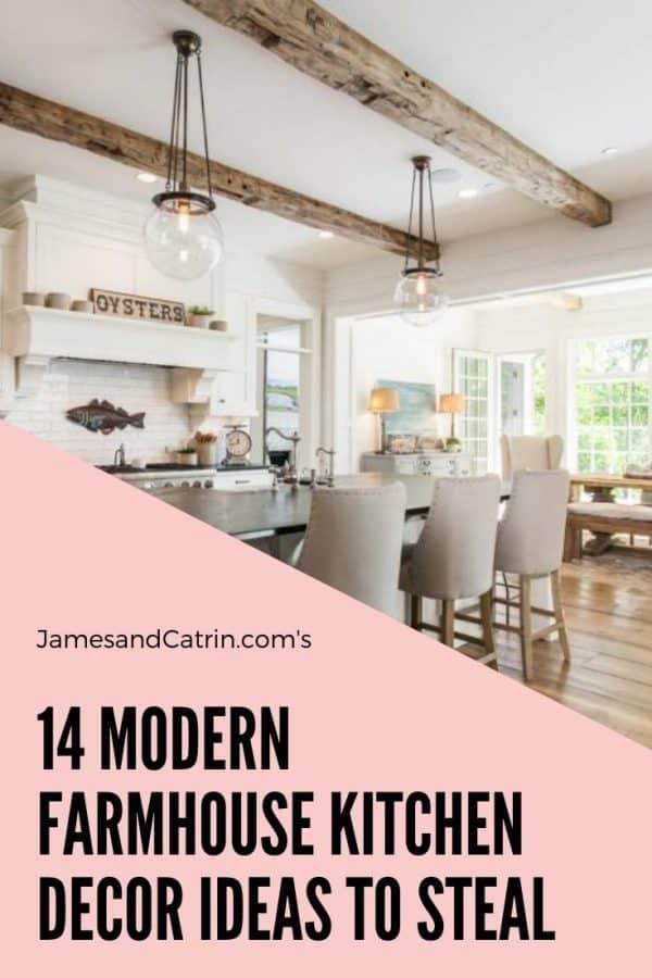 14 Modern Farmhouse Kitchen Decor Ideas to Steal