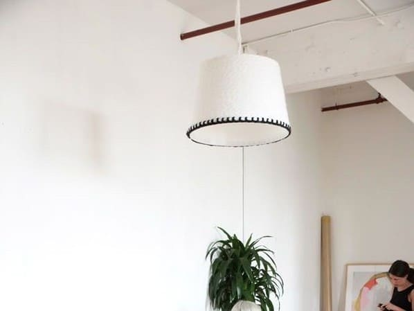 Simple Trimmed Lamp Shade