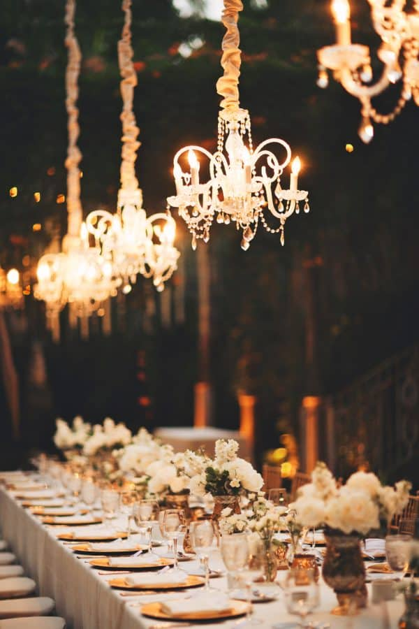 Chandelier Table Lighting Ikea Wedding Hacks