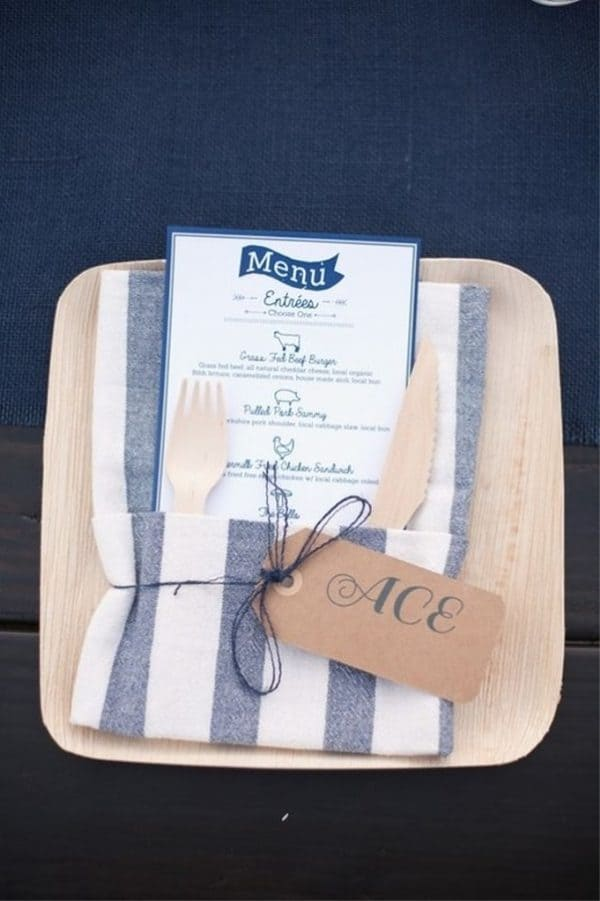Dish Cloth Napkins Hack