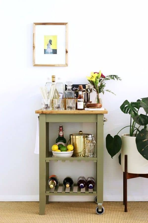 Gin Bar Cart
