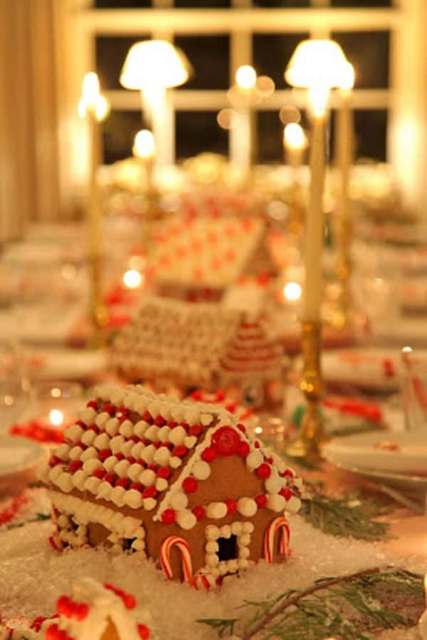 Gingerbread House Table Centrepiece Ikea Wedding Hacks