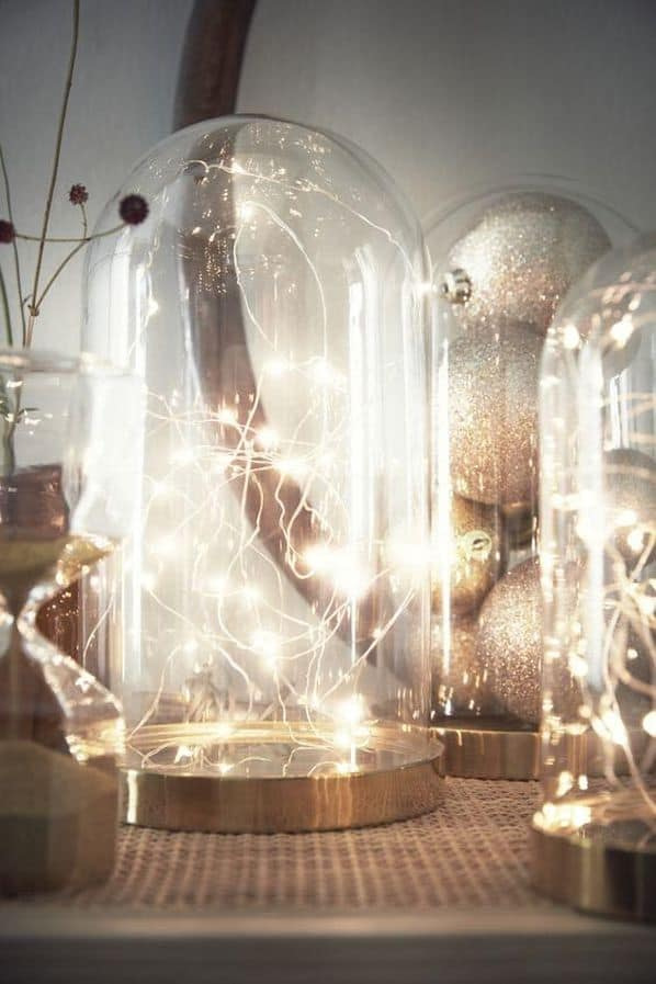 Glass Bell Jar Lights Ikea Wedding Hacks