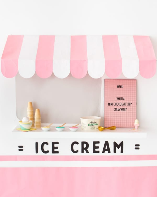 Ice Cream Truck Wall Shelf Hack
