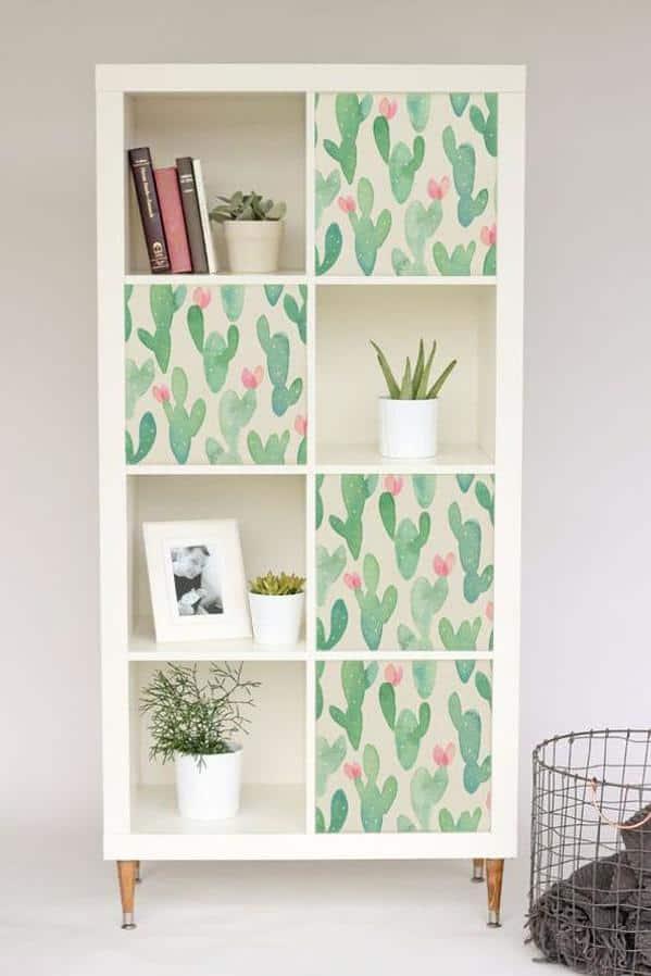 Ikea Kallax Cactus Hack