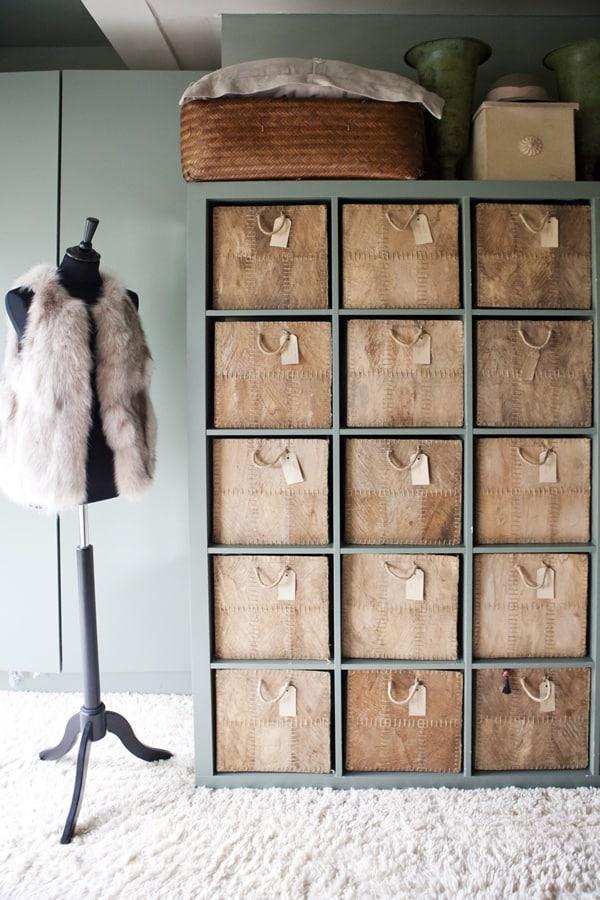Leather Cubby Hack