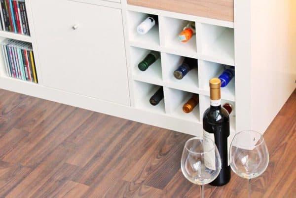 Ikea Kallax Wine Rack Insert Hack