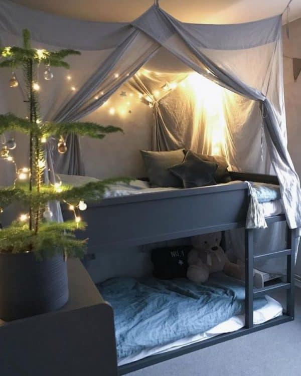 Ikea Kura Bed Beduin Tent Hack