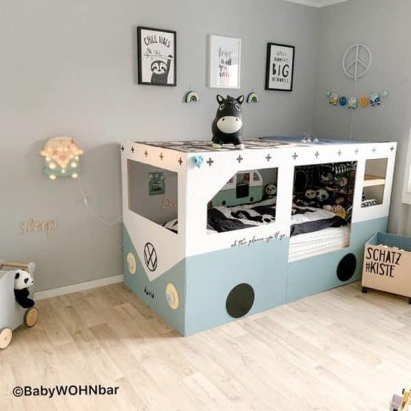 Ikea Kura Bed Camper Van Hack