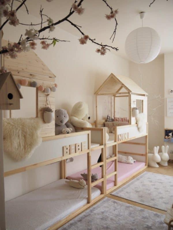 Ikea Kura Bed Doubled Up Hack