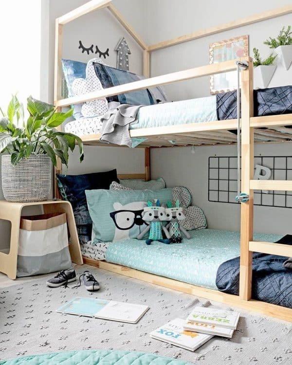 Ikea Kura Bed House Roof Hack