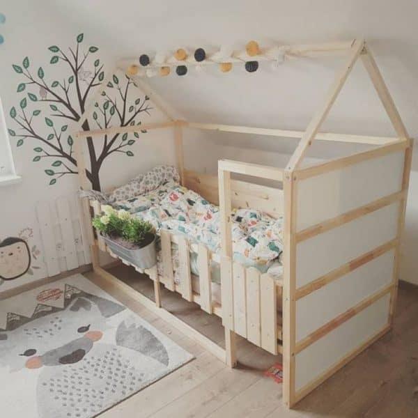 Ikea Kura Bed Little House Hack