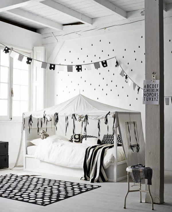 Ikea Kura Bed Monochrome Hack