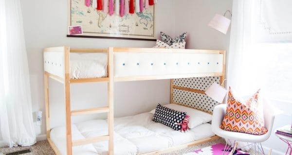 Ikea Kura Bed Upholstered Hack