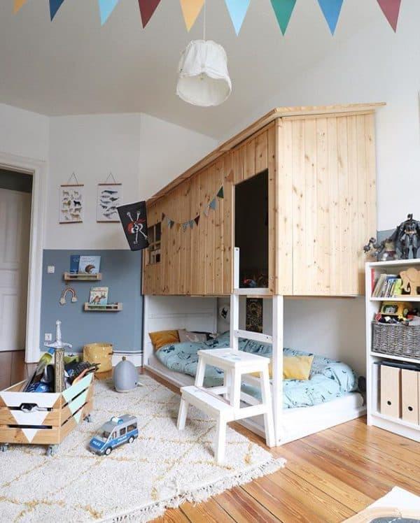 Ikea Kura Bed Treehouse Hack