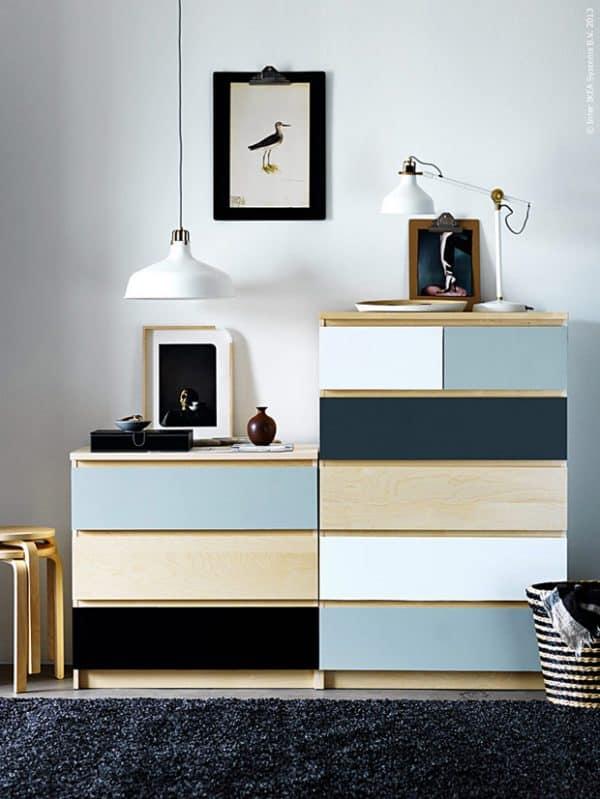 Ikea Malm Pastel Dresser Hack
