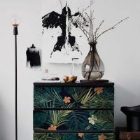 Ikea Malm Tropical Decal Dresser Hack
