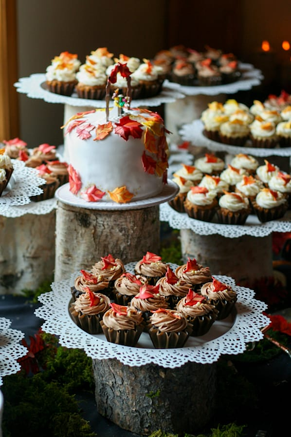 Lace Cupcake Platters