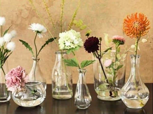Variety of Glass Vases Ikea Wedding Hacks