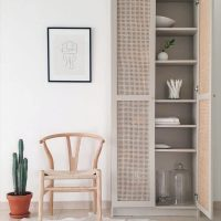 Ikea Billy Bookcase Cane Doors Hack