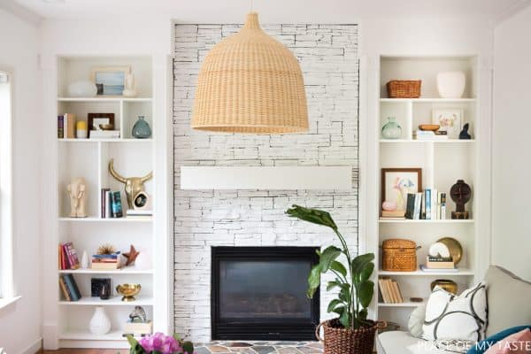 Ikea Billy Bookcase Fireplace Alcoves Hack