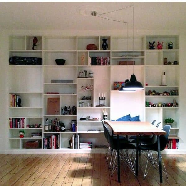Ikea Billy Bookcase Full Wall Hack