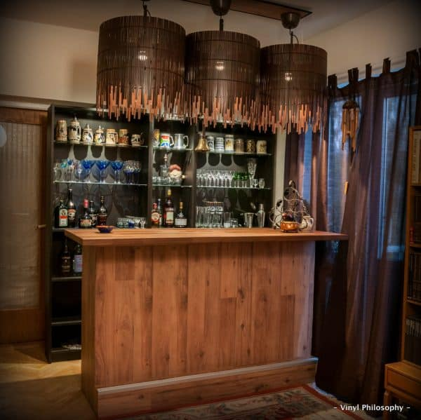 Ikea Billy Bookcase Home Bar Hack