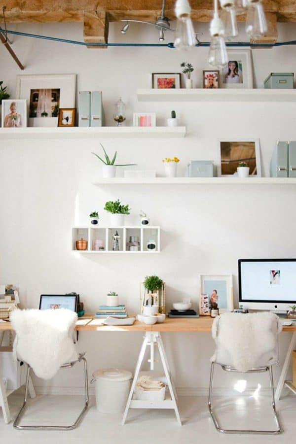 Ikea FINNVARD Double Trestle Desk Hack