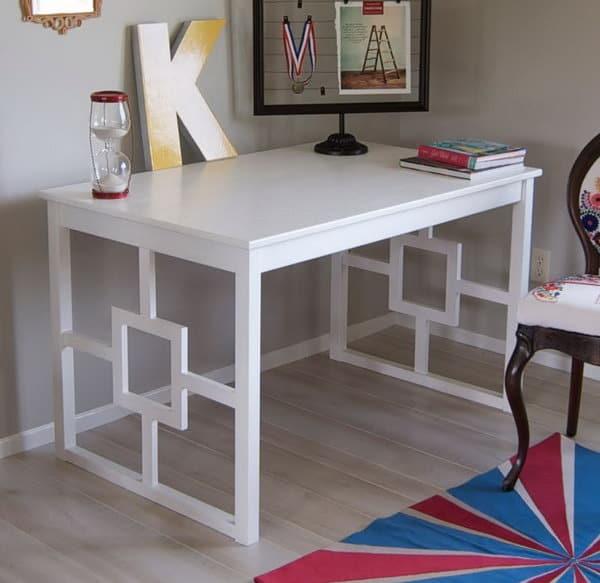 Ikea INGO Chic Modern Desk Hack
