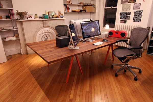 Ikea KARLBY Large Desk Hack
