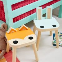 Ikea Kids Animal Stool Hack