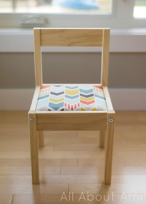 Ikea Kids Custom Chair Hack