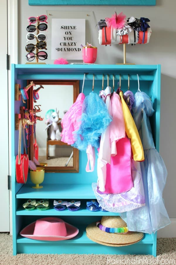 Ikea Kids Dress Up Closet Hack