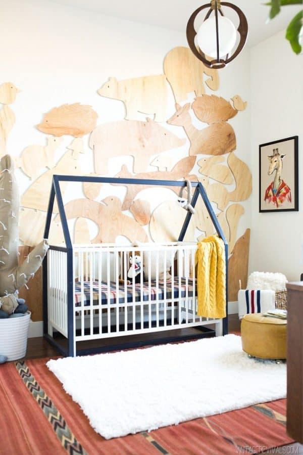 Ikea Kids House Crib Hack