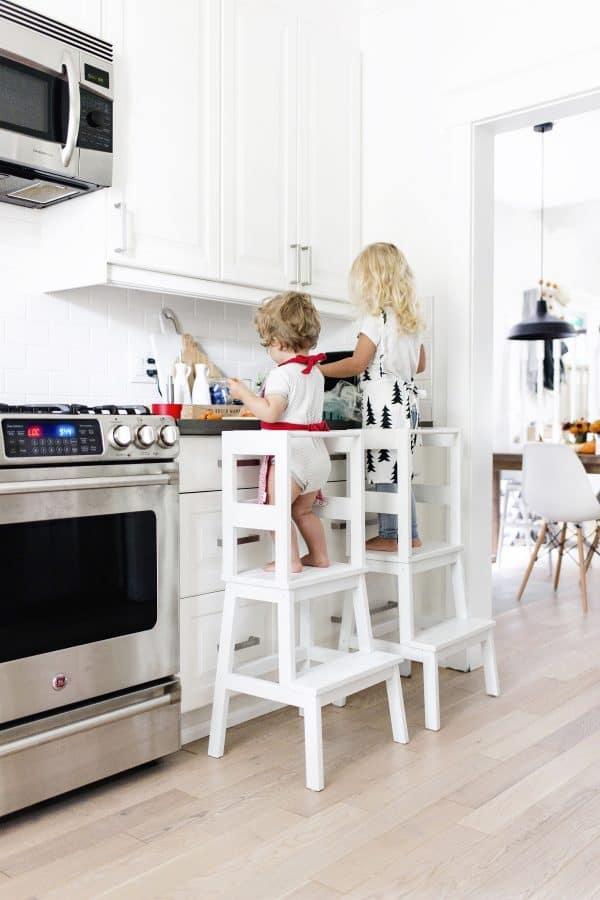 Ikea Kids Learning Tower Stool Hack