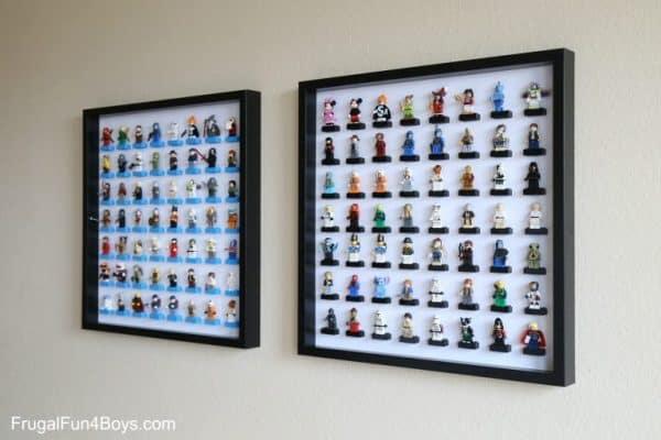 Ikea Kids Lego Figures Display Hack