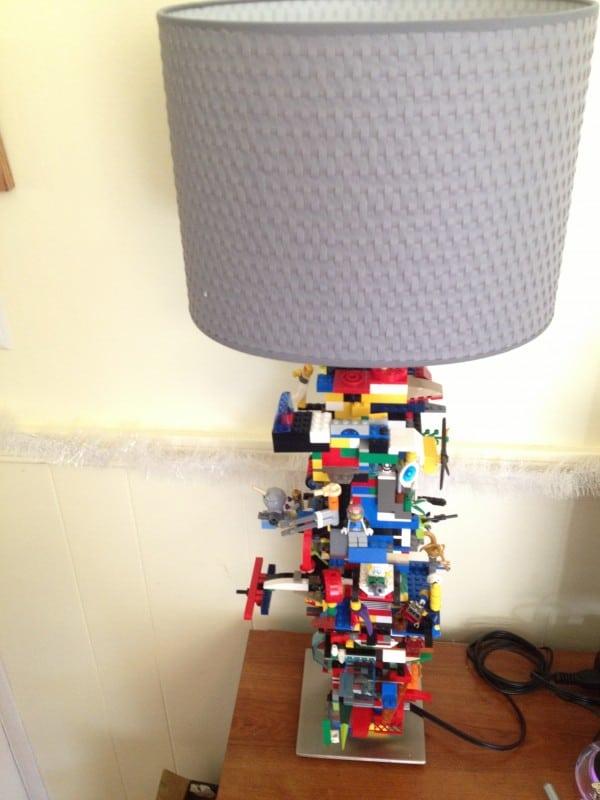 Ikea Kids Lego Lamp Hack