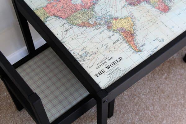 Ikea Kids Map Table