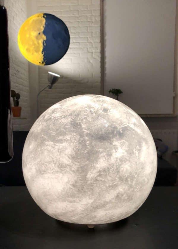 Ikea Kids Moon Globe Lamp Hack