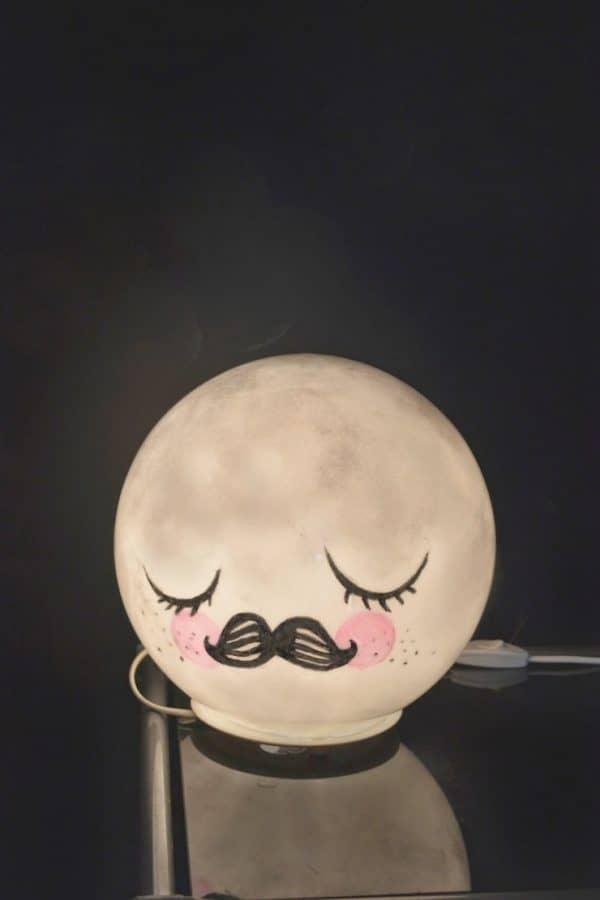 Ikea Kids Mr Moon Globe Lamp Hack